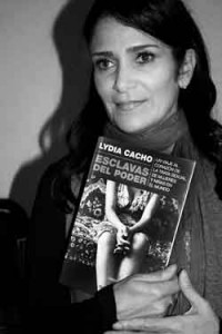 Lydia Cacho / photo by Mari Resendiz