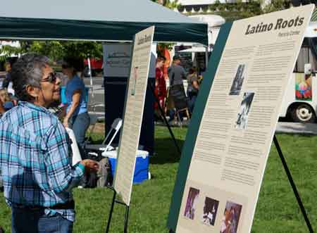 Medford, OR – The Latino Roots Exhibit on display at the 2014 Multicultural Fair.